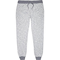 Grey neppy joggers