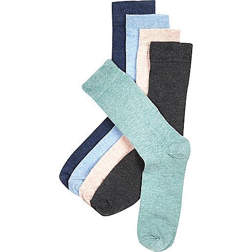 Mixed marl socks pack