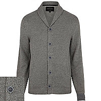 Grey button through cardigan