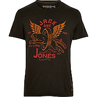 Black Jack & Jones Vintage wolves t-shirt