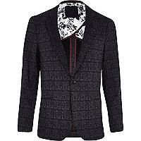 Dark grey VITO tweed blazer