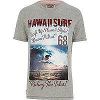 Grey Tokyo Laundry Hawaii surf t-shirt