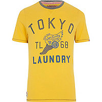Yellow Tokyo Laundry Lincoln t-shirt
