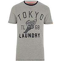 Grey Tokyo Laundry Lincoln t-shirt