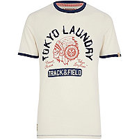 White Tokyo Laundry Rollin t-shirt