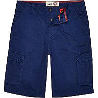 Navy Tokyo Laundry cargo shorts