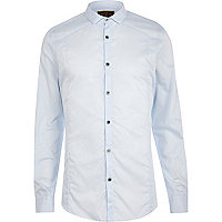 Blue Holloway Road long sleeve shirt