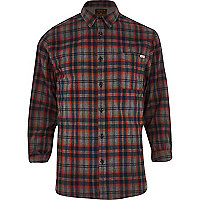 Red Jack & Jones Premium check shirt