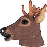 Brown stag head