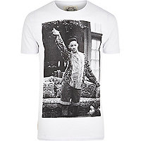 White Worn By Fresh Click t-shirt