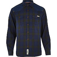Blue Tokyo Laundry check shirt
