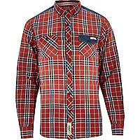 Red Tokyo Laundry check shirt