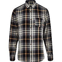 Grey Holloway Road check shirt