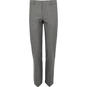 Charcoal-grey-slim-smart-trousers