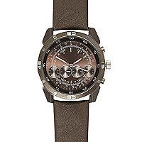 Grey quadruple dial watch