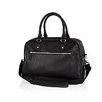 Black bowling bag holdall