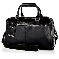Black small holdall