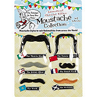 Novelty moustaches