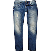 Mid wash Only & Sons straight jeans