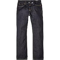 Dark wash Bellfield straight jeans