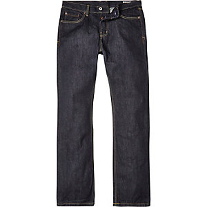 Dark wash Bellfield straight jeans