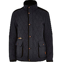 Navy Tokyo Laundry quilted jacket