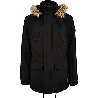 Black Tokyo Laundry parka jacket