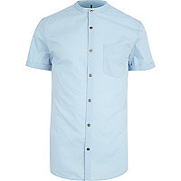 Light blue grandad shirt