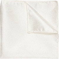 White pocket square