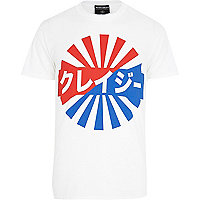 White Anticulture cola sport t-shirt