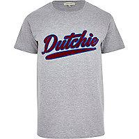 Grey dutchie t-shirt
