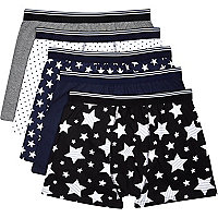 Navy stars boxer shorts pack