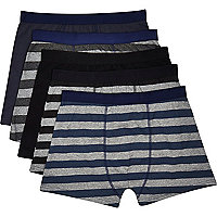 Grey boxer shorts pack