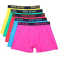 Mixed bright RI boxer shorts pack