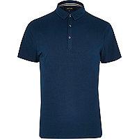 Dark turquoise polo shirt