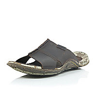 Brown Cushe leather sandals