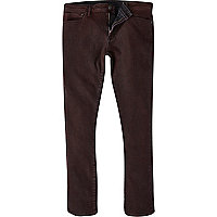 Red wash Danny superskinny jeans