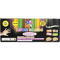 DIY loom bands pack
