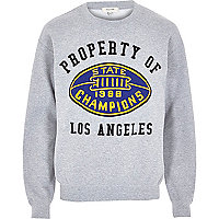 Grey property of LA sweatshirt