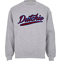 Grey dutchie sweatshirt