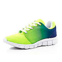 Green ombre trainers