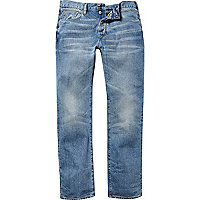 Light wash Spencer straight jeans
