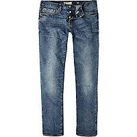 Mid wash Dylan slim jeans