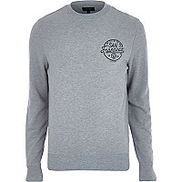 Grey San Francisco print sweatshirt