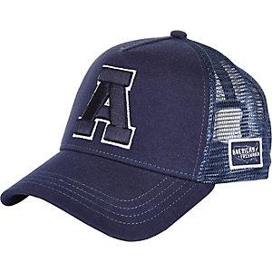 Navy American Freshman A snapback cap
