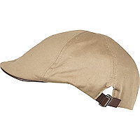 Brown flatcap hat