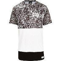 Black New Love Club cut and sew t-shirt