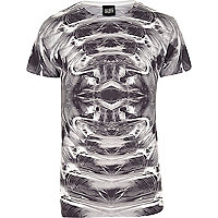 Black New Love Club graphic print t-shirt