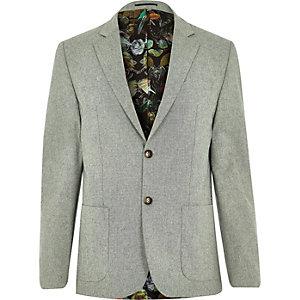 Green smart blazer