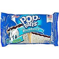 Frosted blueberry pop tarts